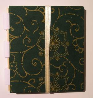 Notizbuch_klein_Duni grün