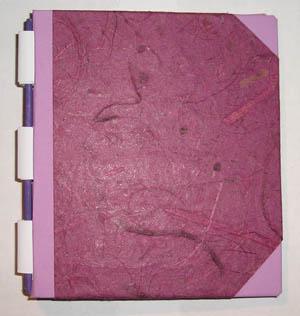 Notizbuch_klein_Bananenpapier_pink